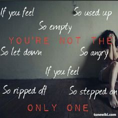 Riot By: Three Days Grace