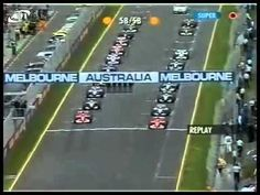 Melbourne 2002 R.Schumacher crash