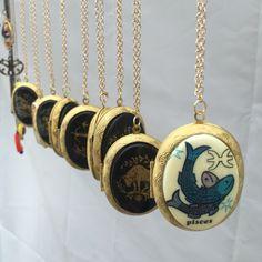 A personal favorite from my Etsy shop https://www.etsy.com/listing/468827603/zodiac-vintage-cabochan-brass-lockets