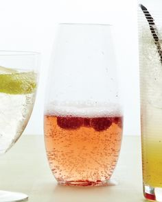 Rosy Raspberry Spritzer - Martha Stewart Recipes