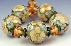 Encased Florals Buttercups   Andie's Glass   Andree Kosak