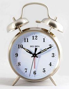 Big Ben Twin Bell Battery Alarm Clock by Westclox