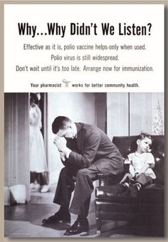Get educated about vaccines and vaccine-preventable diseases so that you will understand that vaccines are safe, necessary, and that they work, and so you will be able to counter any anti-vaccine talking point you hear. Vintage Advertisements, Vintage Ads, Medical Photography, Talking Points, Get Educated, Vintage Medical, Medical History, Old Ads, Advertising