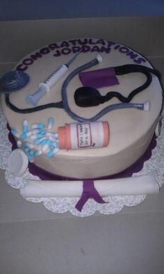 Nurse Cake Grad Party?