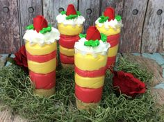 Beauty and the Beast Cheesecake Shooters Beauty And Beast Birthday, Beauty And The Beast Party, Baby Shower Princess, Princess Party, Disney Princess, Cheesecake Shooters, Girl Birthday, Birthday Ideas, Family Activities