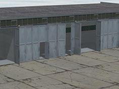 Wagenhallen Set V10
