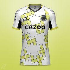Soccer Uniforms, Football Kits, Soccer Players, News Design, Premier League, Badges, Madrid, Behance, Concept