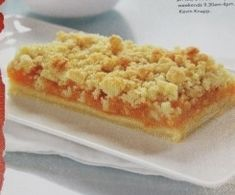 Recipe Apricot Crumble Slice by R., learn to make this recipe easily in your kitchen machine and discover other Thermomix recipes in Baking - sweet. Chef Recipes, Apple Recipes, Sweet Recipes, Cookie Recipes, Recipies, Drink Recipes, Healthy Recipes, Food Cakes, Cupcake Cakes