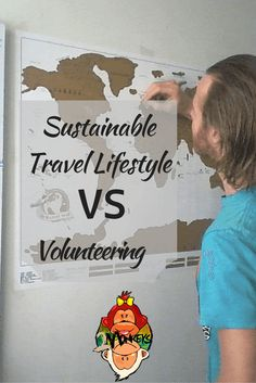 Sustainable Travel Lifestyle vs Volunteering. #SUSTAINABLETRAVEL VS #VOLUNTOURISM: In this article, I will explain here why volunteering is not the best way to travel the world long-term. Before you pack your bags and leave for an indefinite time to travel the world, think about how you see yourself when you grow older. Of course, I know HAPPY. But seriously, what will happen next, after travelling? #TravelStories #TwoMonkeysTravelGroup