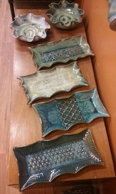 Trays and bowls - Yvonne Brown Pottery