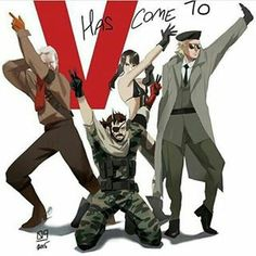 V has come to mgs