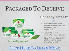 """Truvia likes to call itself """"natural"""" but is it really? You may be getting more than you bargained for."""