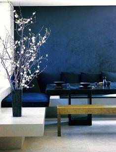 a peek inside: donna karan's upper west side home dining table