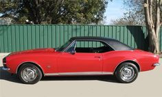 1967 CHEVROLET CAMARO RS/SS COUPE - 65803