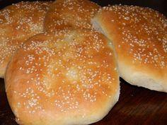 Chléb Pide z Turecka Hamburger, Bread, Pizza, Detail, Breads, Baking, Hamburgers, Burgers, Loose Meat Sandwiches