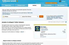 Followerwonk es un excelente herramienta online para obtener detallados análisis e informes sobre nuestros followers de Twitter o comparar varios perfiles.