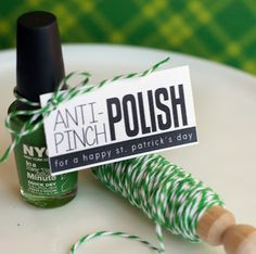 Anti-Pinch polish for St. Patrick's Day