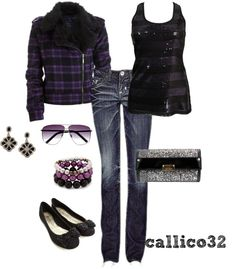 """Purple!"" by callico32 on Polyvore"