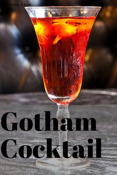 Impress your friends with this classy Bruce Wayne-inspired cocktail. This vodka-based drink is perfect for the fall season! Sweet Cocktails, Winter Cocktails, Vodka Cocktails, Thanksgiving Cocktails, Halloween Cocktails, Healthy Eating Tips, Clean Eating Snacks, Seasonal Food, Fall Food