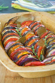 Tian de légumes d'été - Recette Interfel - Les fruits et légumes frais