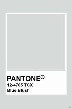 Pantone Blue Blush