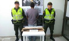 Policía en Risaralda  captura una persona, incautándole un arma ilegal.