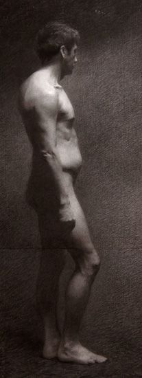 Ulrich Sulberg/ figure drawing/The Florence Academy of Art