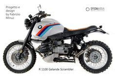 BMW R 1100 GS ABS Scrambler Special Cafe Racer
