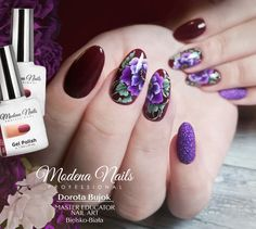 #onestrokenailart #onestrokeflowers #onestrokenails #modenanails #francesca #lakieryhybrydowe #hybridnails #violetnails #longnails💅 #autumnnails #autumncolors #lovethisnails #nailstagram #nails2inspire #modenowelove Violet Nails, One Stroke Nails, Long Nails, Nails Inspiration, Beauty, Toenails Painted, Purple Nails, Beauty Illustration, Purple Nail