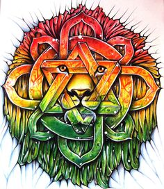 Lion Of Zion mandala by Alhoide on DeviantArt
