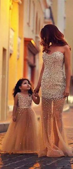 174 mejores imágenes de vestidos de fiesta madre e hija | zapatos