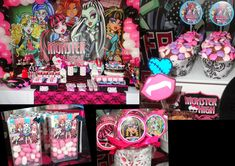 Free cute printables for a monster high party
