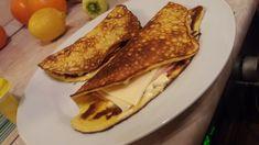 Diétás palacsinta krémsajtból - Tóth Éva fotója French Toast, Breakfast, Food, Cukor, Morning Coffee, Meal, Essen, Hoods, Meals