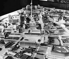 Ost-Berlin, Planung Zentrum, 197...