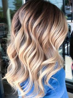 44 Perfections of Rooted Blonde Highlights for 2018. Explore the beauty of rooted blonde hair colors to show off with your long and medium hair in 2018. If you are looking for best styles of blonde hair colors and highlights then you must see here how amazingly we have presented here the rooted blonde hair colors choice for all the ladies who actually wear blonde colors.