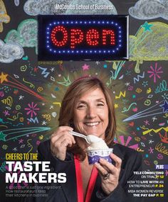 Check out the spring 2013 issue of OPEN, the McCombs School of Business magazine. Featuring cover woman and MBA alum Amy Simmons, owner of the beloved Amy's Ice Creams.