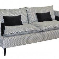 Sofa FLOXY w pepitkę