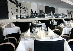 tallink_silja_tallink_star_a_la_carte_restaurant Star Ferry, Conference Room, Restaurant, Table Decorations, Stars, Ship, Furniture, Home Decor, Cards
