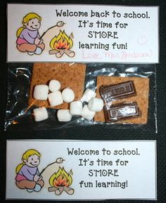 Back To School Treats