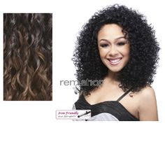 Lace Front Camera - Color LX3590 - Synthetic (Curling Iron Safe) Regular Lace Front Wig
