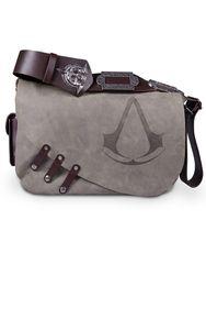 Assassin's Creed Black Flag - Leather Messenger Bag