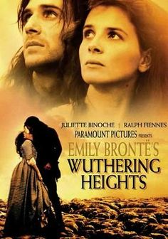 """Emily Bronte's Wuthering Heights"" <3  My favorite movie adaption!"