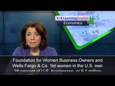VOA learning English - Women's Entrepreneurship is on the Rise