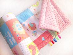 Die dicke und kuschelig Decke für ein Baby von Mili Dream auf DaWanda.com