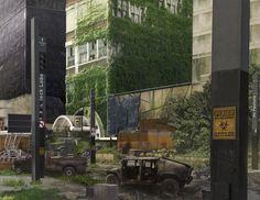 ArtStation - Post Apocalyptic Scene, Saulo Pintar