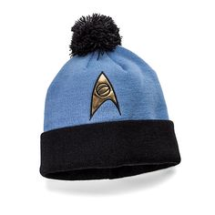 Star Trek: The Original Series Knit Hat - Sciences Division (Blue) ($14.99)