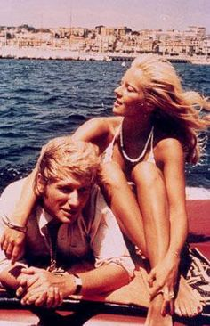 Sylvie Vartan and Johnny Hallyday