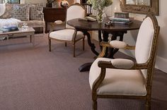 Cobble Ridge in color Sun Stone  This Karaloc woven herringbone pattern is made with a special blend of wool and acrylic fiber that combines the richness of wool with the resilence of acrylic to provide years of care fee durability. It is offerend in 14 fresh, new colors.