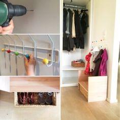 DIY: Kindergarderobe mit Berlinerhocker