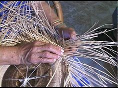Aunty Elizabeth Lee Weaves Lauhala on BITV Big Island